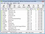 excel 2007 to dbf file Linux Dbf