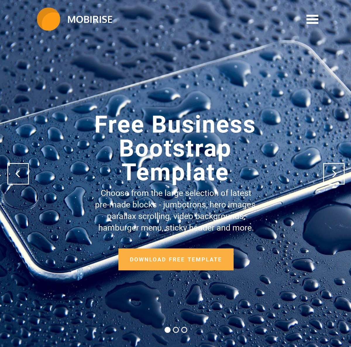 Mobile Responsive Site Templates Themes Extensions