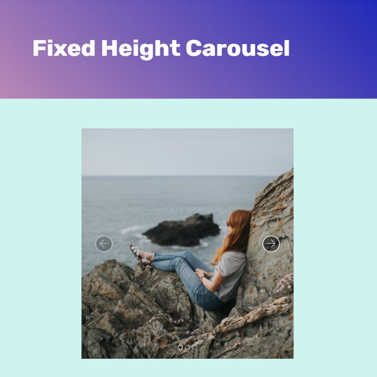 Free Bootstrap Image Carousel